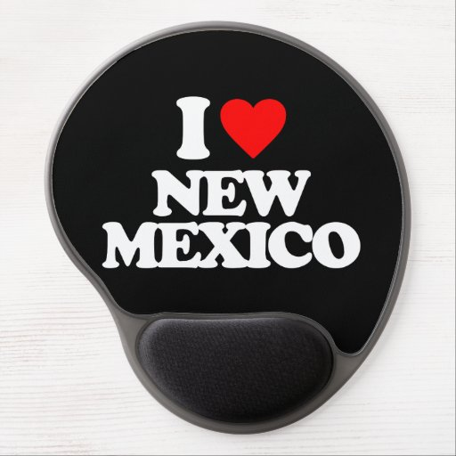 I LOVE NEW MEXICO GEL MOUSE MATS