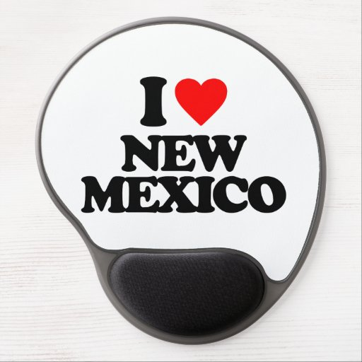 I LOVE NEW MEXICO GEL MOUSEPADS