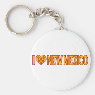 I Love New Mexico Keychain