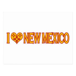 I Love New Mexico Postcard