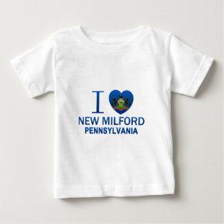 I Love New Milford, PA T Shirts