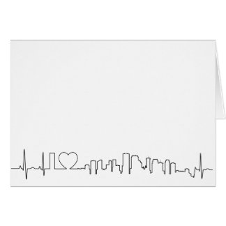 I love New Orleans in an extraordinary ecg style Card