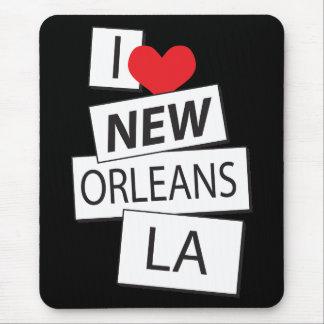 I Love New Orleans LA Mouse Pad