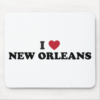 I Love New Orleans Louisiana Mouse Pad