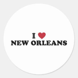 I Love New Orleans Louisiana Sticker