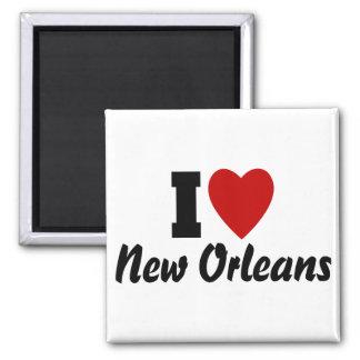 I Love New Orleans Magnet