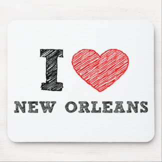 I-Love-New-Orleans Mouse Pad