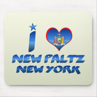 I love New Paltz, New York Mouse Pad