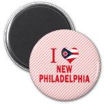 I love New Philadelphia, Ohio Refrigerator Magnet