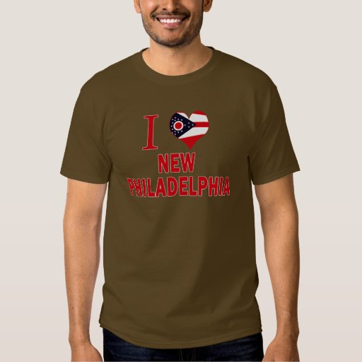 I love New Philadelphia, Ohio T Shirts