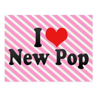 I Love New Pop Postcard
