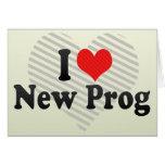 I Love New Prog Card