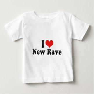 I Love New Rave Baby T-Shirt