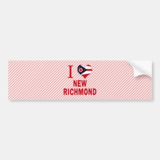 I love New Richmond, Ohio Bumper Sticker