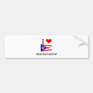 I Love New Richmond Ohio Bumper Sticker
