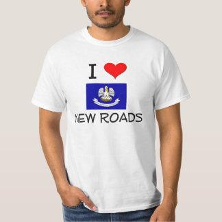 I Love NEW ROADS Louisiana T-Shirt