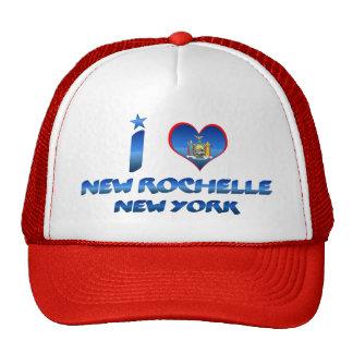 I love New Rochelle, New York Trucker Hat