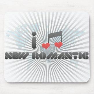 I Love New Romantic Mouse Pad