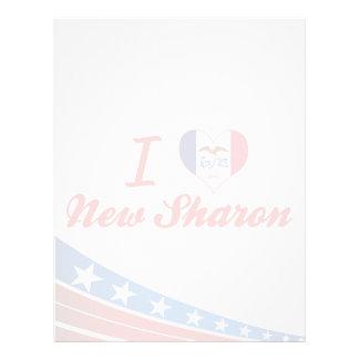 I Love New Sharon, Iowa Custom Letterhead