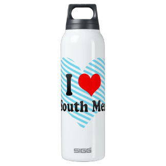 I Love New South Memphis, United States 16 Oz Insulated SIGG Thermos Water Bottle