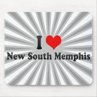I Love New South Memphis, United States Mouse Pad