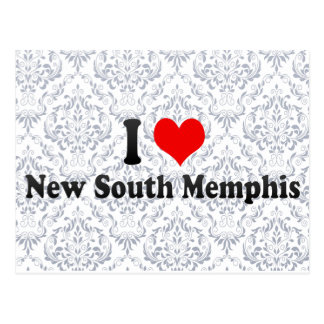 I Love New South Memphis, United States Postcard