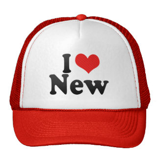 I Love New Trucker Hat