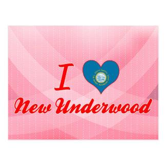 I Love New Underwood, South Dakota Postcard