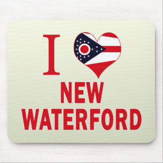I love New Waterford, Ohio Mouse Pad