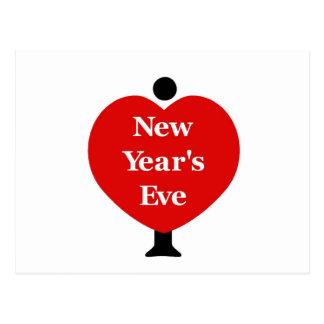 I Love New Year's Eve Postcard