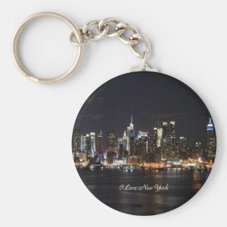 I Love New York, Bright Lights, City Lights Keychain