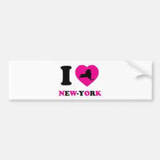 I Love New-York Bumper Sticker