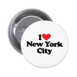 I Love New York City Pins