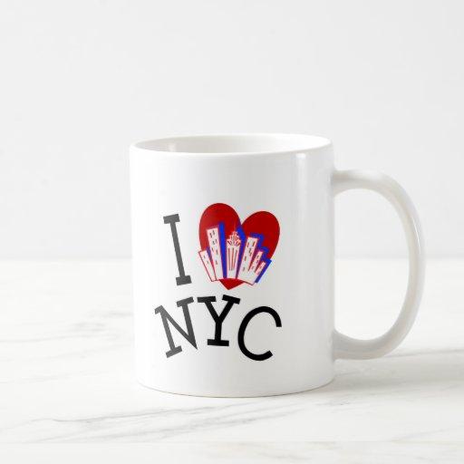 I Love New York City Classic White Coffee Mug