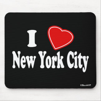 I Love New York City Mouse Pad