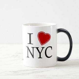 I Love New York City 11 Oz Magic Heat Color-Changing Coffee Mug