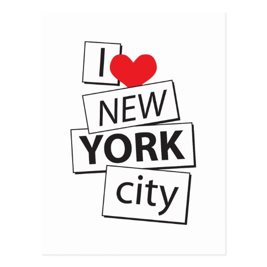 I Love New York City Postcard