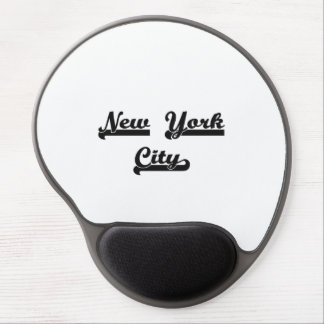 I love New York City United States Classic Design Gel Mouse Pad