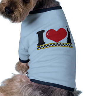 I Love New York Doggie T Shirt