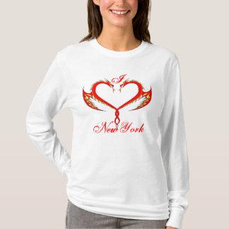 I Love New York Dragon T-Shirt