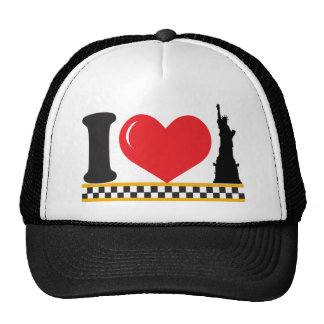 I Love New York Mesh Hat