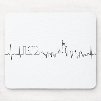 I love New York in a extraordinary style Mouse Pad
