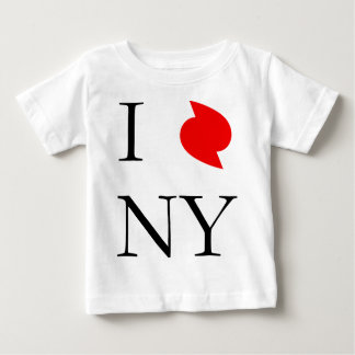 I Love New York In Irene Hurricane Baby T-Shirt
