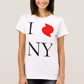 I Love New York In Irene Hurricane T-Shirt