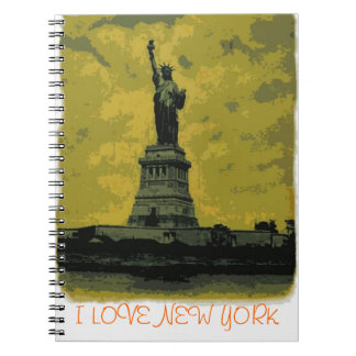 I Love New York - Lady Liberty Notebook
