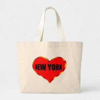 I Love New York Large Tote Bag