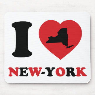 I Love New-York Mouse Pad