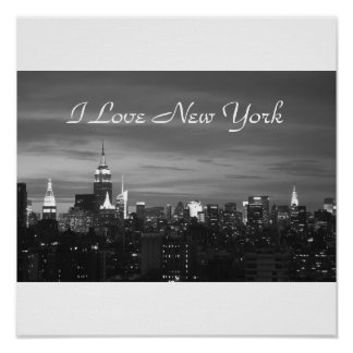 I Love New York Photo Pring Poster