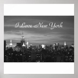 I Love New York Photo Pring Poster