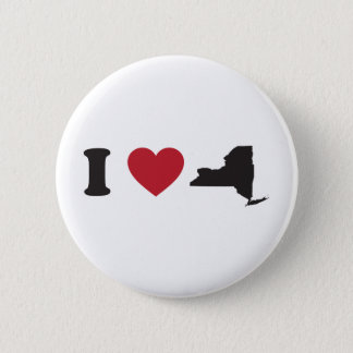 I Love New York Pinback Button